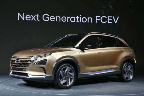 Hyundai's Next-Gen Fuel Cell SUV Promises Range and Style